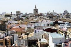 Valencia, Vogelperspektive Lizenzfreies Stockbild