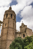 Valencia & x28;Spain& x29;, cathedral Royalty Free Stock Images