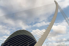 Valencia & x28;Spain& x29;, City of Arts and Sciences Royalty Free Stock Photography