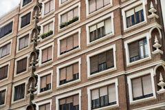Valencia & x28; Spain& x29; , costruendo Fotografia Stock