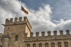 Valencia y x28; Spain& x29; , Lonja de la Seda Fotografía de archivo