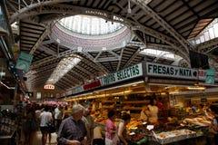 Valencian Markt Stockfotos