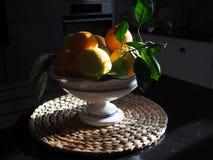 Valencian orange und orange Bl?ten spanien lizenzfreie stockbilder