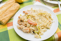 Valencian paella Stock Photos