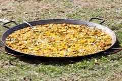 Valencian paella Royalty Free Stock Photography