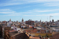 Valencian Skyline Stock Photo