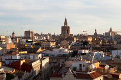 Valencian Skyline Royalty Free Stock Photos