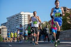 Valencias Marathon Stock Image