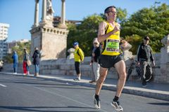 Valencias Marathon Royalty Free Stock Photos