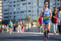 Valencias Marathon Royalty Free Stock Photography
