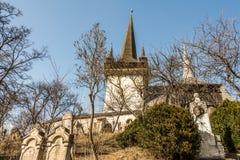 Valeni Reformed Church Stock Photo