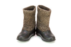 Valenoks with galoshes Stock Photos