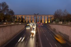 Valens Aqueduct (Bozdogan Kemeri) In Istanbul, Tur Royalty Free Stock Image