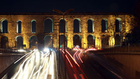 Valens Aqueduct, Istanbul. Stock Photography