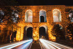 Valens Aqueduct Royalty Free Stock Images