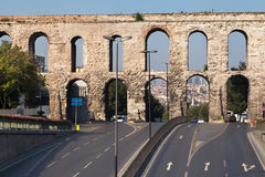 Valens Aqueduct Royalty Free Stock Photo