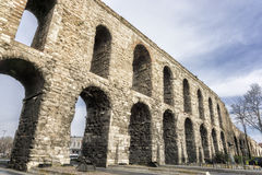 Valens Aqueduct In Istanbul, Turkey Stock Photos