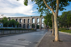 The Valens Aqueduct Royalty Free Stock Images