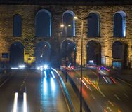 Valens Aqueduct Stock Image