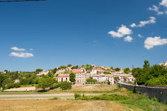Valensole village Stock Image
