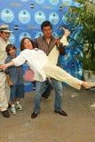 Valente Rodriguez, Luis Garcia, Belita Moreno, George Lopez Stock Images