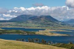 在Valentia冰岛的风景风景 库存照片