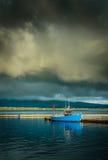 Valentia Island Harbor Royaltyfri Fotografi