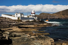 Valentia Lighthouse Stock Photo
