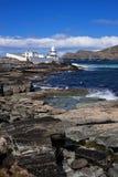 Valentia Lighthouse on the Rocks Stock Photo