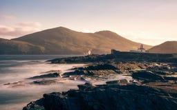 Valentia wyspy latarni morskiej Cromwell punkt zdjęcie royalty free