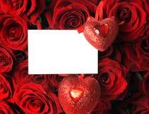 Valentijnskaart Royalty-vrije Stock Afbeeldingen