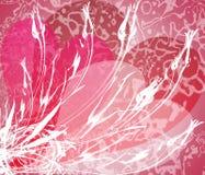 Valentijnskaart 4 van Grunge Royalty-vrije Stock Fotografie