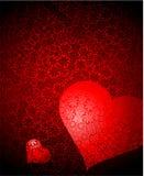Valentijnskaart stock illustratie