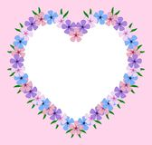 Valentijnskaart Stock Foto