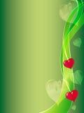 Valentijnskaart Royalty-vrije Stock Foto