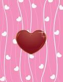 Valentijnskaart Royalty-vrije Stock Foto's