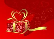 Valentijnskaart vector illustratie