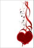Valentijnskaart Stock Afbeelding