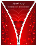 Valentijnskaart dag card1 Stock Foto's