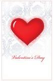 Valentijnskaart heart_D Royalty-vrije Stock Foto's