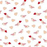 Valentijnskaart of huwelijkspatroon Royalty-vrije Stock Foto's