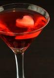 Valentijnskaart Martini Royalty-vrije Stock Foto's