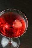 Valentijnskaart Martini Royalty-vrije Stock Afbeeldingen