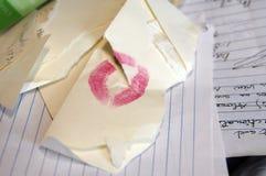 Valentijnskaart-minder Stock Afbeelding