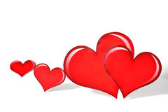 Valentijnskaart \ 's heart_5 Royalty-vrije Stock Foto's