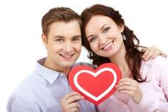 Valentijnskaarten Royalty-vrije Stock Fotografie