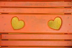 Valentijnskaarten Royalty-vrije Stock Foto