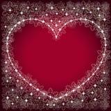 Valentijnskaarten dackground stock illustratie