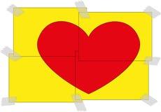 Valentijnskaarten day2 stock foto's