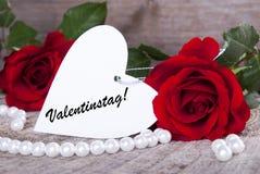 Valentijnskaartenachtergrond Stock Afbeelding